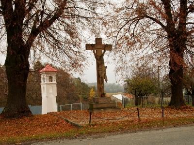 Boží muka a Kříž - Polomí