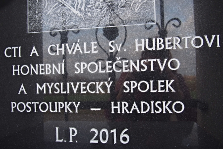 Boží muka sv.Huberta  Hradisko