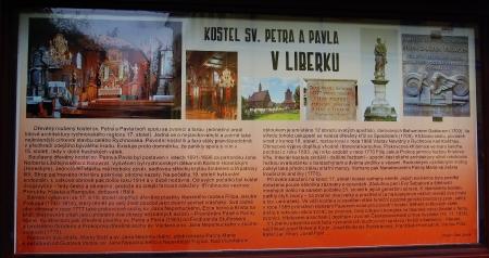 Dřevěný kostel sv. Petra a Pavla v Liberku
