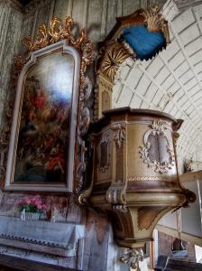 Maršíkov - Srubový celodřevěný kostel sv.Michaela