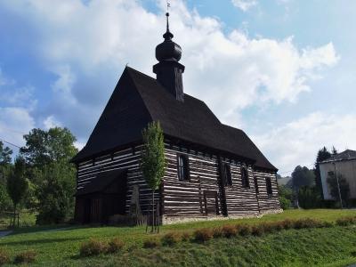 Maršíkov - Srubový celodřevěný kostel sv.Michaela_1