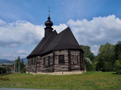Maršíkov - Srubový celodřevěný kostel sv.Michaela_6
