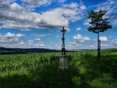 Šibeniční vrch - Kaplička Čtrnácti sv. Pomocníků