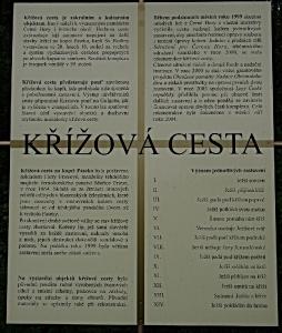Křížová cesta a Kaplí sv.Rodiny v Černé Hoře.