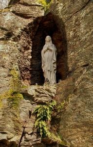 Křížová cesta na Boží Horu u Žulové