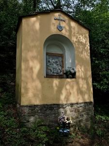 Luleč - Křížová cesta ke sv. Martinovi