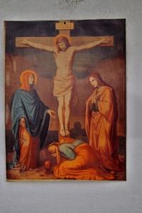 Mladějovice - Křížová cesta a kostel sv. Maří Magdalény