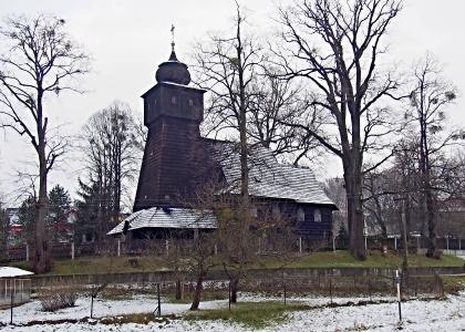 Kostel Nanebevstoupení Páně v Dolních Marklovicích