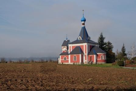 Pravoslavný chrám sv.Ludmily v Řimicích_1